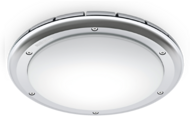 RS PRO LED S2 IP65 opal shade