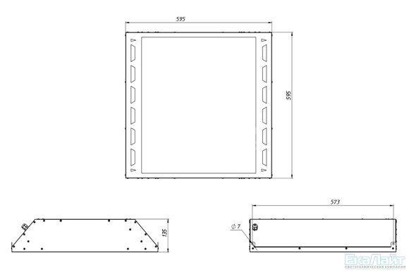 габаритные размеры LE-СВО-03-065-5260-20Д