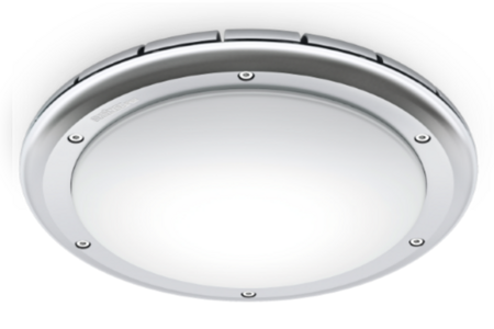 RS PRO LED S2 IP65 frosted shade